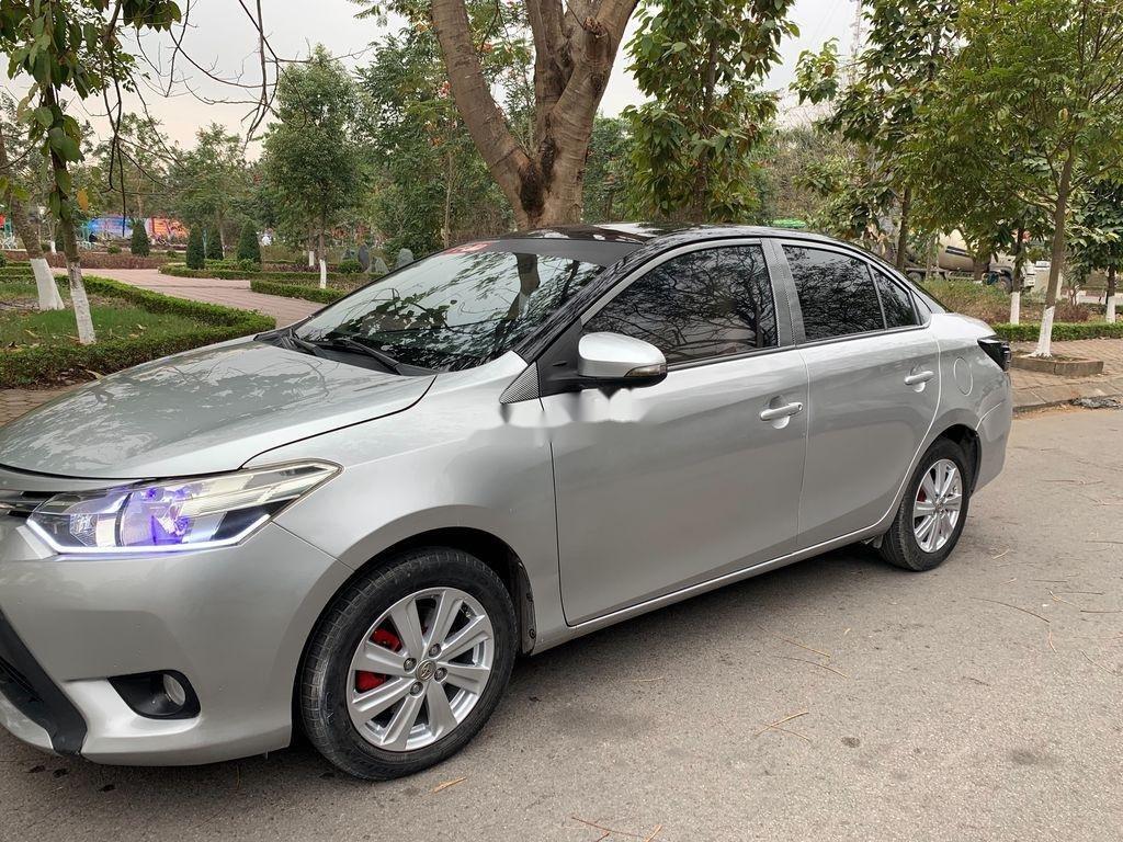 Bán Toyota Vios năm 2014, màu bạc chính chủ, 338tr (2)