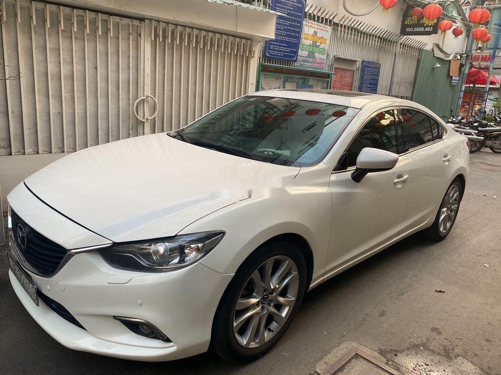 Bán Mazda 6 sản xuất 2016, màu trắng, xe tư nhân (3)
