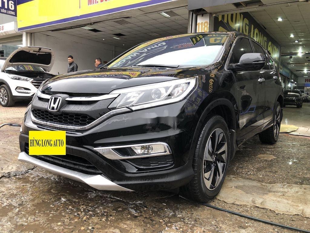 Cần bán xe Honda CR V 2.4 AT sản xuất năm 2017, màu đen, giá tốt (2)