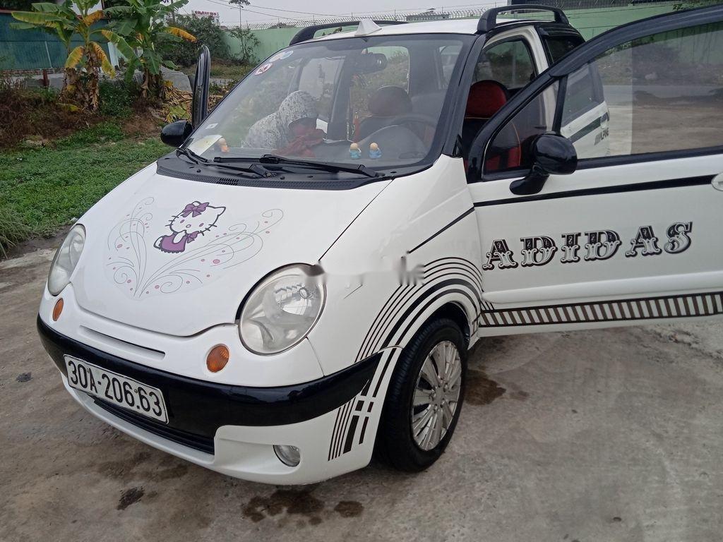 Bán Daewoo Matiz sản xuất năm 2003, màu trắng còn mới, giá tốt (4)