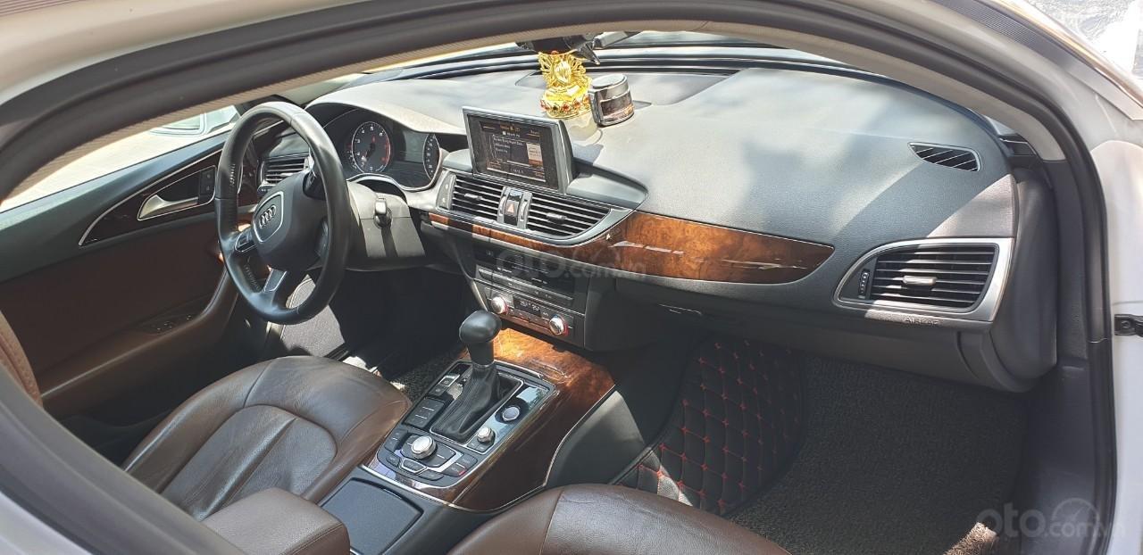 Bán xe Audi A6 đk 2015 chính chủ - màu trắng (6)