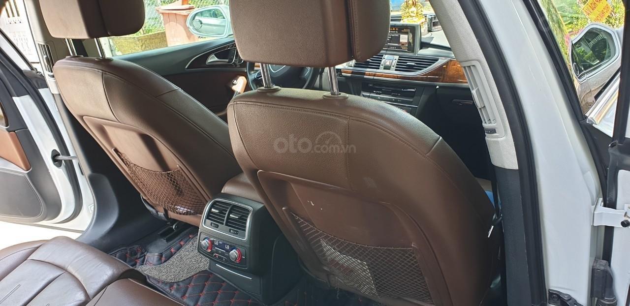 Bán xe Audi A6 đk 2015 chính chủ - màu trắng (7)