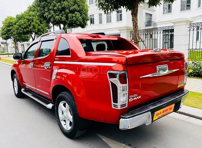 Bán Isuzu Dmax 2.5 L 4x4 AT - 2016 sản xuất 2016, màu đỏ, nhập khẩu (4)