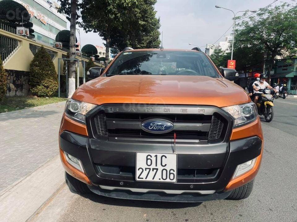 Cần bán xe Ford Ranger Wiltrak 3.2 đời 2017, nguyên zin giá tốt (1)