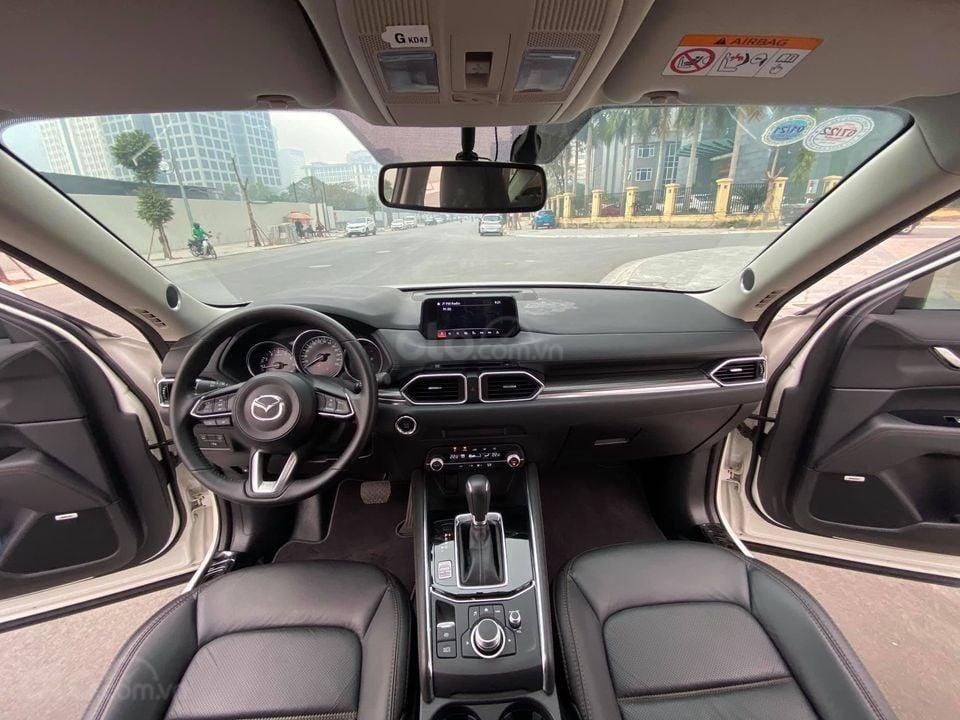 Cần bán Mazda CX 5 Luxury bản 2.0 đời 2019, màu trắng, siêu mới siêu lướt (4)
