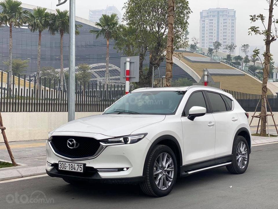 Cần bán Mazda CX 5 Luxury bản 2.0 đời 2019, màu trắng, siêu mới siêu lướt (2)