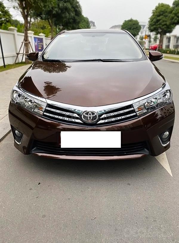 Bán Toyota Corolla Altis 1.8G sản xuất năm 2017, màu nâu còn mới (1)