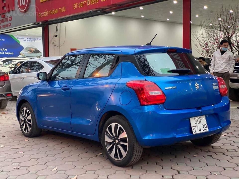 Bán với giá thấp xe Suzuki Swift GLX năm 2019, màu xanh lam (3)