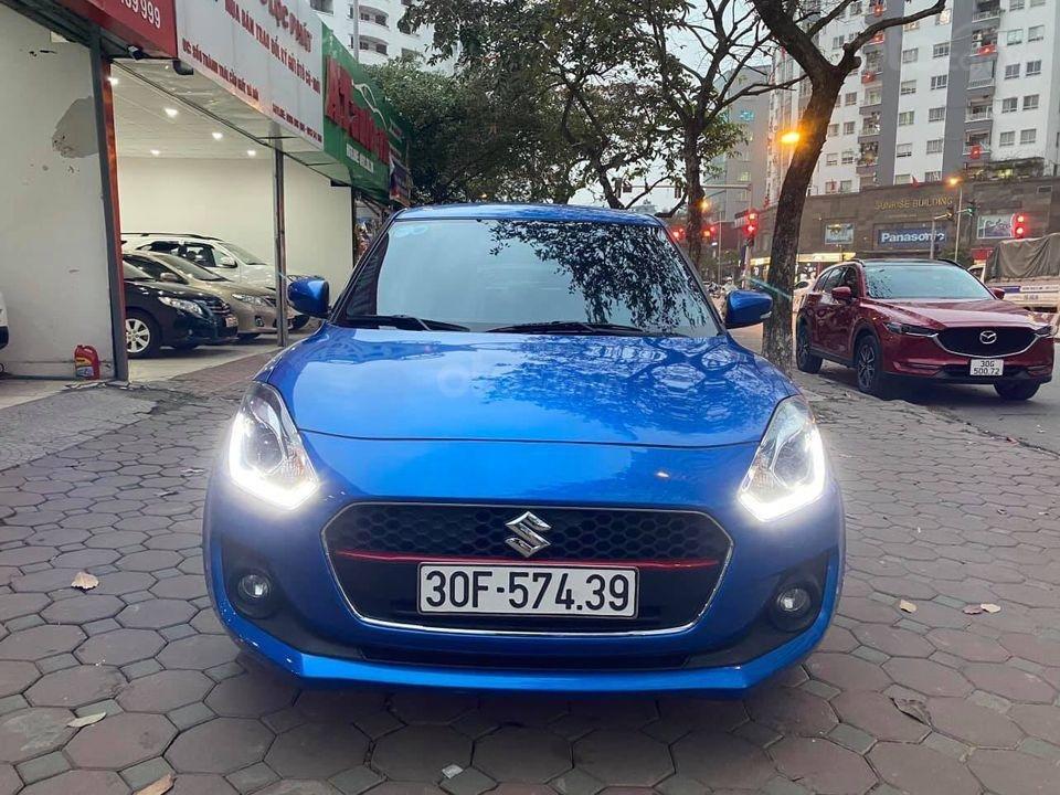 Bán với giá thấp xe Suzuki Swift GLX năm 2019, màu xanh lam (1)