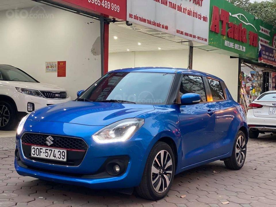 Bán với giá thấp xe Suzuki Swift GLX năm 2019, màu xanh lam (2)