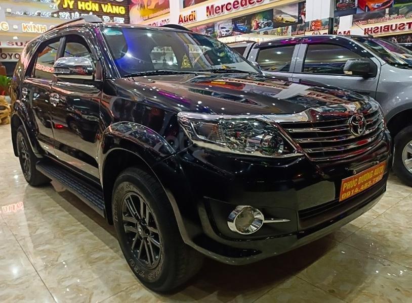 Bán Toyota Fortuner năm 2012, màu đen còn mới (1)