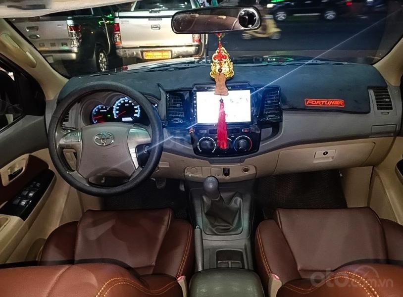 Bán Toyota Fortuner năm 2012, màu đen còn mới (4)
