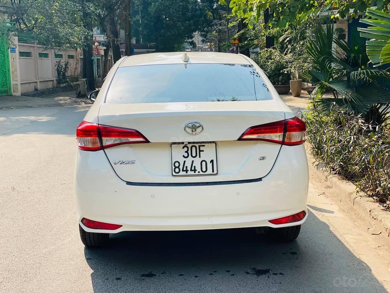 Cần bán Toyota Vios 1.5G đời 2019, màu trắng, chỉ trả 30% là có xe ngay (5)
