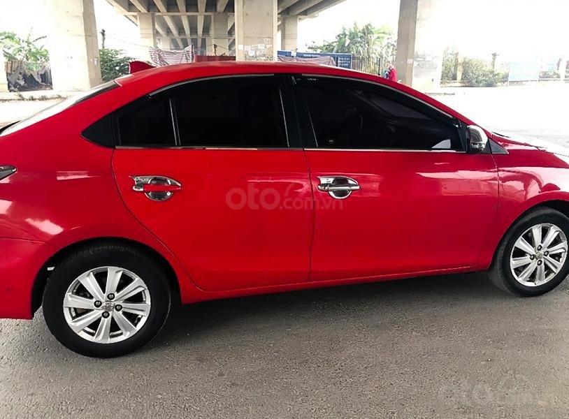 Bán ô tô Toyota Vios 1.5G AT năm sản xuất 2016, màu đỏ còn mới, giá chỉ 410 triệu (1)