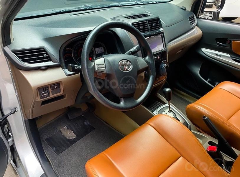 Bán xe Toyota Avanza 1.5 AT năm sản xuất 2018, màu bạc, nhập khẩu, giá thấp (4)