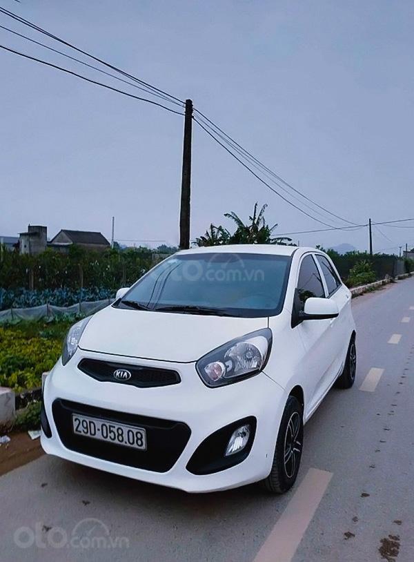 Bán Kia Morning 1.0 AT sản xuất năm 2014, màu trắng, xe nhập (5)