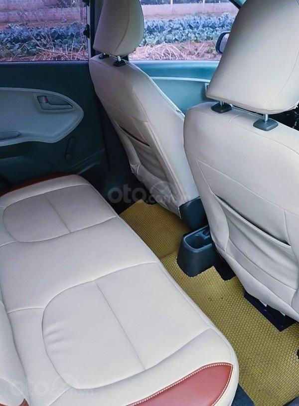 Bán Kia Morning 1.0 AT sản xuất năm 2014, màu trắng, xe nhập (4)