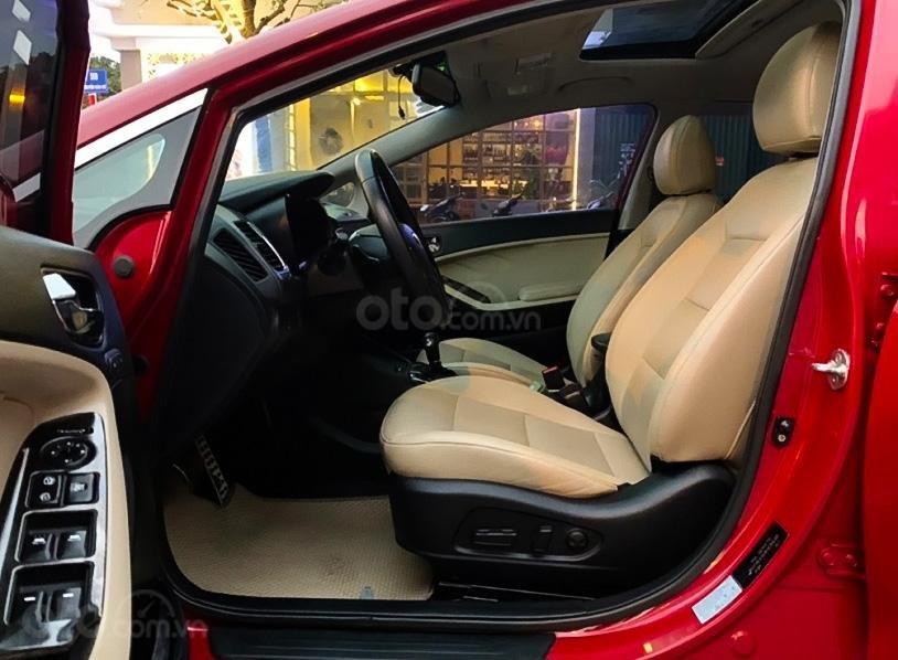 Bán Kia Cerato 1.6 AT sản xuất năm 2017, màu đỏ giá cạnh tranh (5)