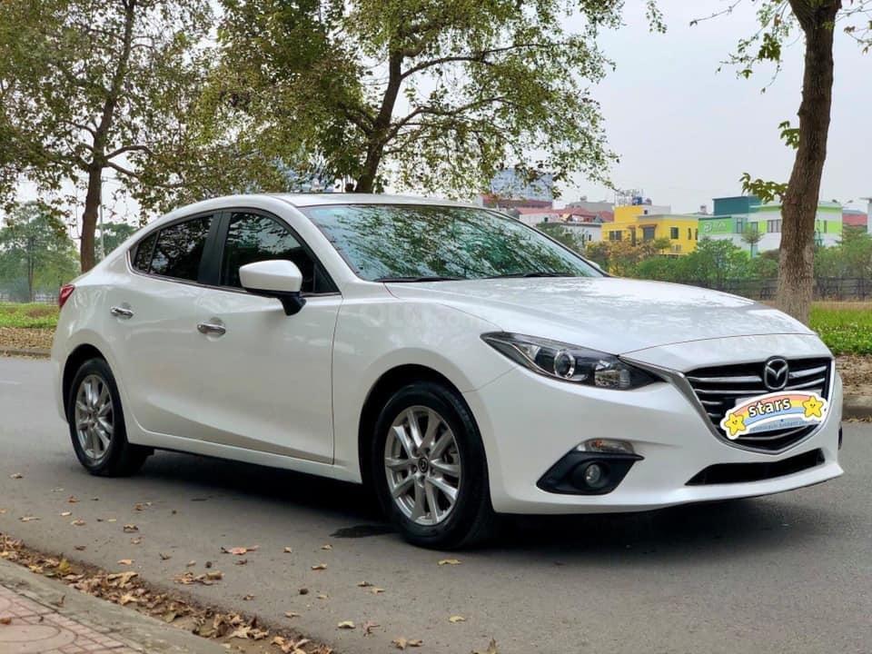 Xe Mazda 3 1.5AT đời 2015, màu trắng, giá đẹp cho anh em đang cân đối (3)