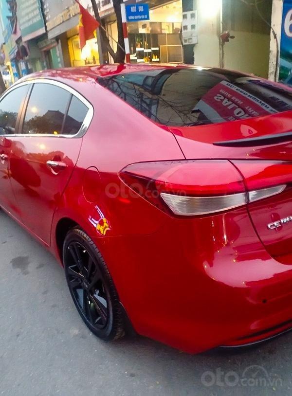 Bán Kia Cerato 1.6 AT năm 2017, màu đỏ, giá ưu đãi (1)
