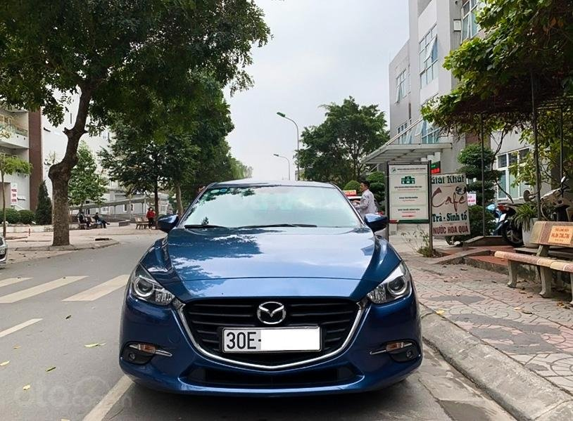 Bán Mazda 3 1.5 AT năm sản xuất 2017, màu xanh lam còn mới (6)