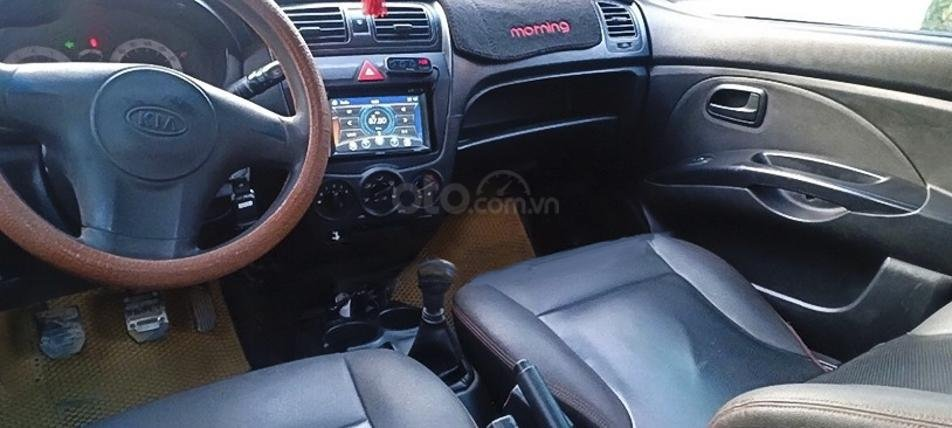 Cần bán lại xe Kia Morning năm 2011, màu bạc còn mới (4)