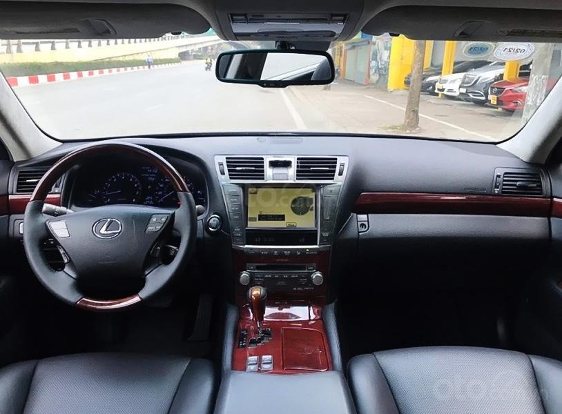 Cần bán gấp Lexus LS460 sản xuất năm 2009, màu đen, xe nhập còn mới (3)