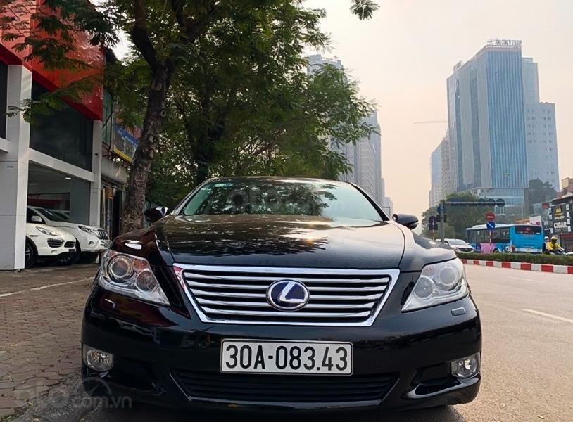 Cần bán gấp Lexus LS460 sản xuất năm 2009, màu đen, xe nhập còn mới (1)