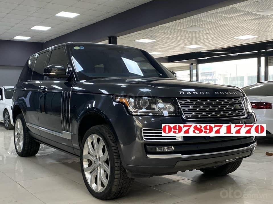 Cần bán xe LandRover Range Rover HSE 3.0 2016, màu đen, xe nhập (3)