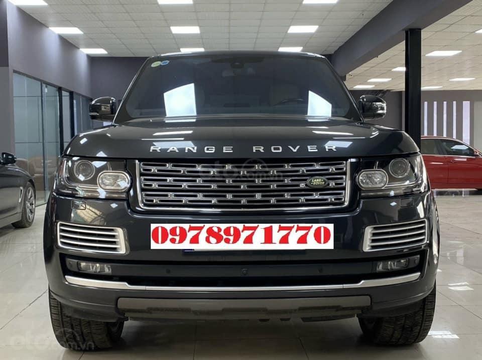 Cần bán xe LandRover Range Rover HSE 3.0 2016, màu đen, xe nhập (1)