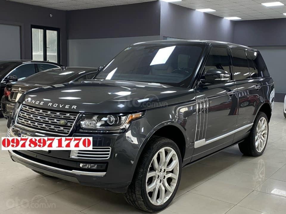 Cần bán xe LandRover Range Rover HSE 3.0 2016, màu đen, xe nhập (2)