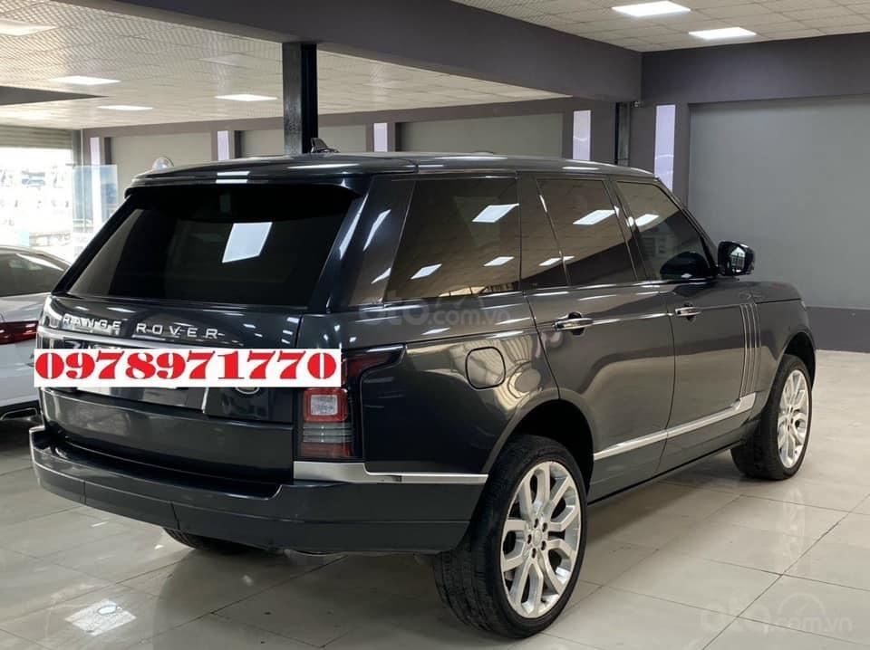 Cần bán xe LandRover Range Rover HSE 3.0 2016, màu đen, xe nhập (4)
