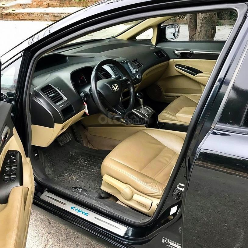 Bán Honda Civic 1.8 AT sản xuất năm 2008, màu đen (2)