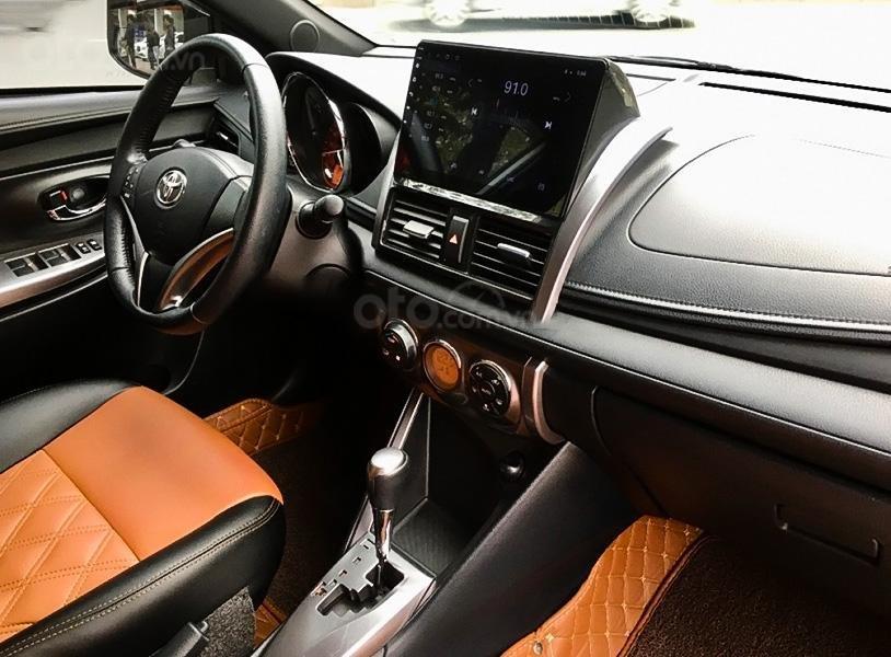 Bán ô tô Toyota Yaris 1.5G sản xuất 2017, màu trắng, nhập khẩu giá cạnh tranh (3)