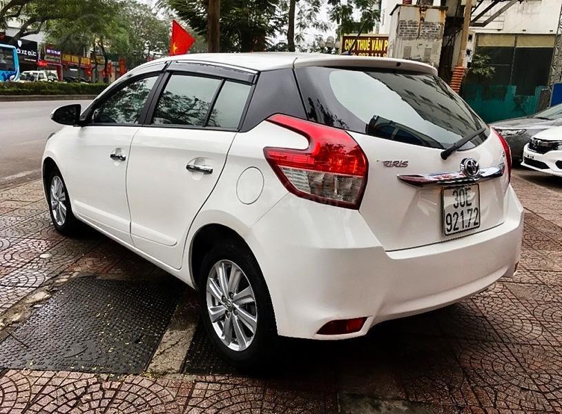 Bán ô tô Toyota Yaris 1.5G sản xuất 2017, màu trắng, nhập khẩu giá cạnh tranh (2)