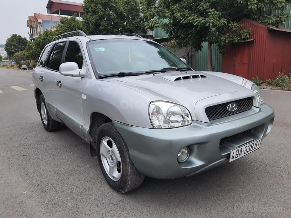 Bán gấp ô tô Hyundai Santa Fe Gold năm 2003, màu bạc, 225 triệu (1)