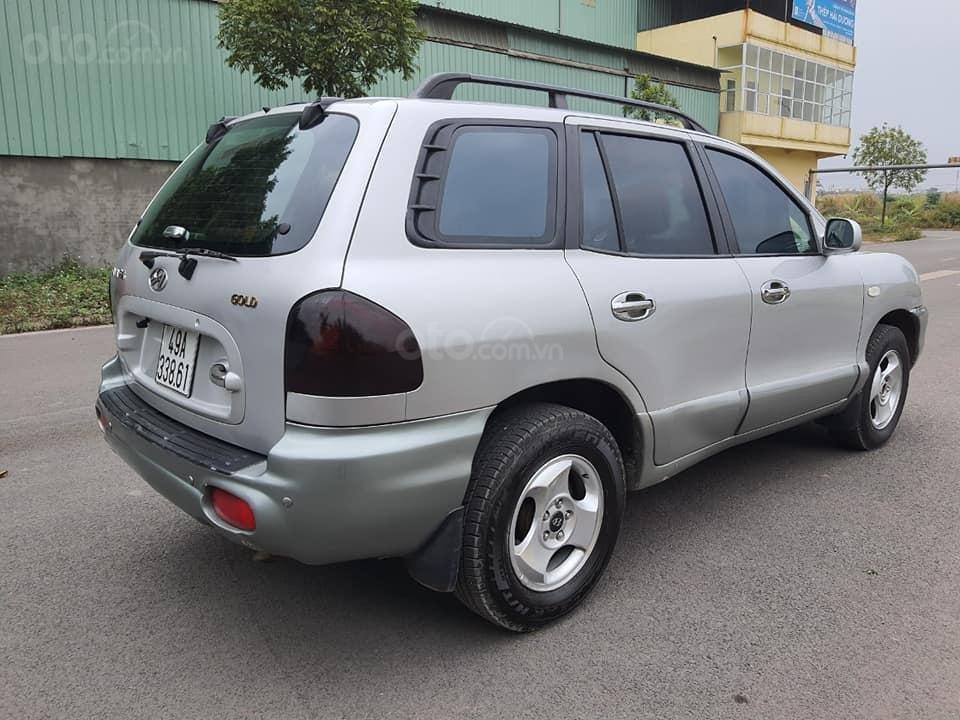 Bán gấp ô tô Hyundai Santa Fe Gold năm 2003, màu bạc, 225 triệu (3)