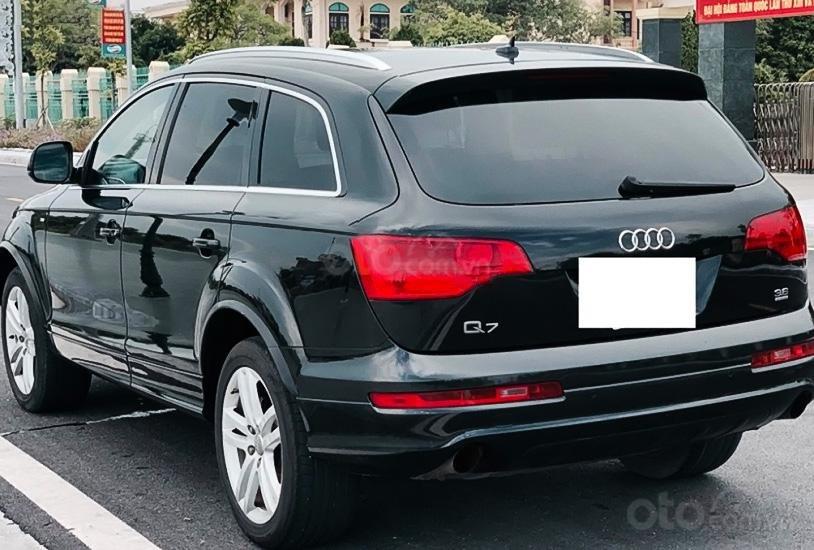 Cần bán xe Audi Quattro Q7 3.6 Sline năm sản xuất 2008, màu đen, xe nhập, giá 539tr (3)