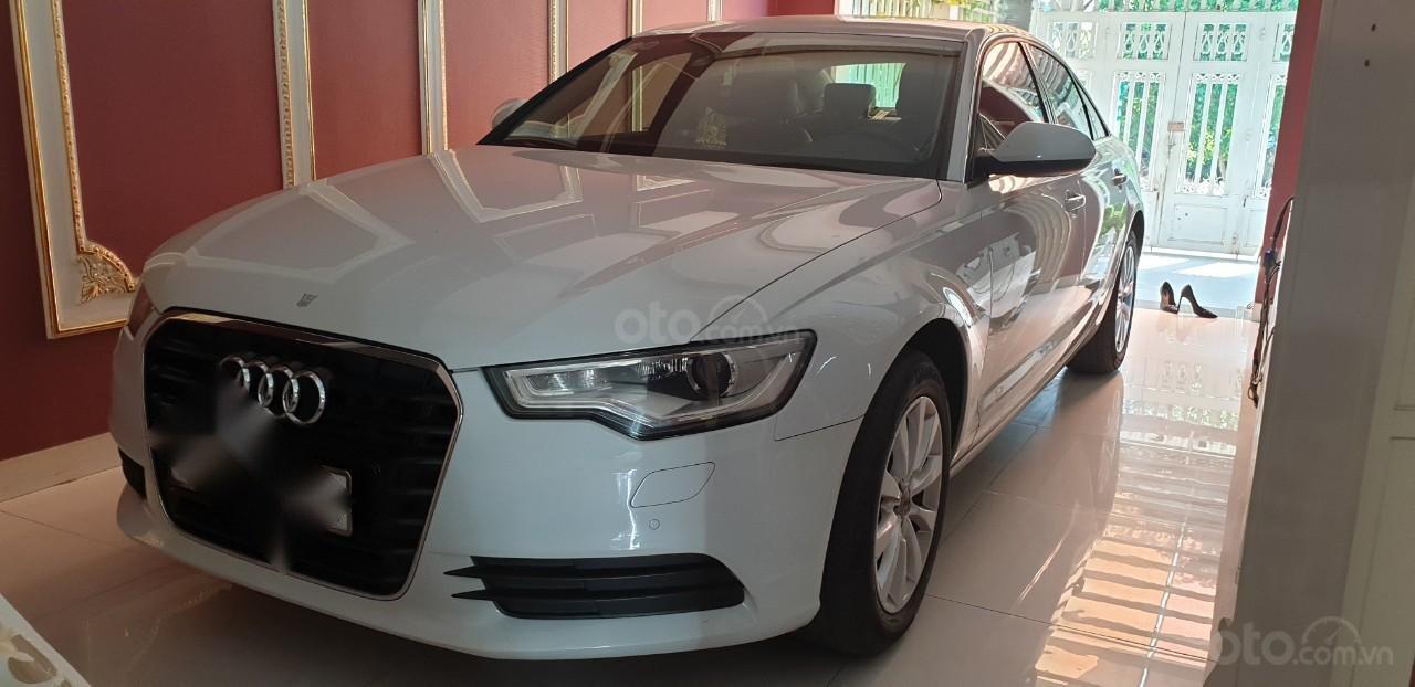 Bán xe Audi A6 đk 2015 chính chủ - màu trắng (1)