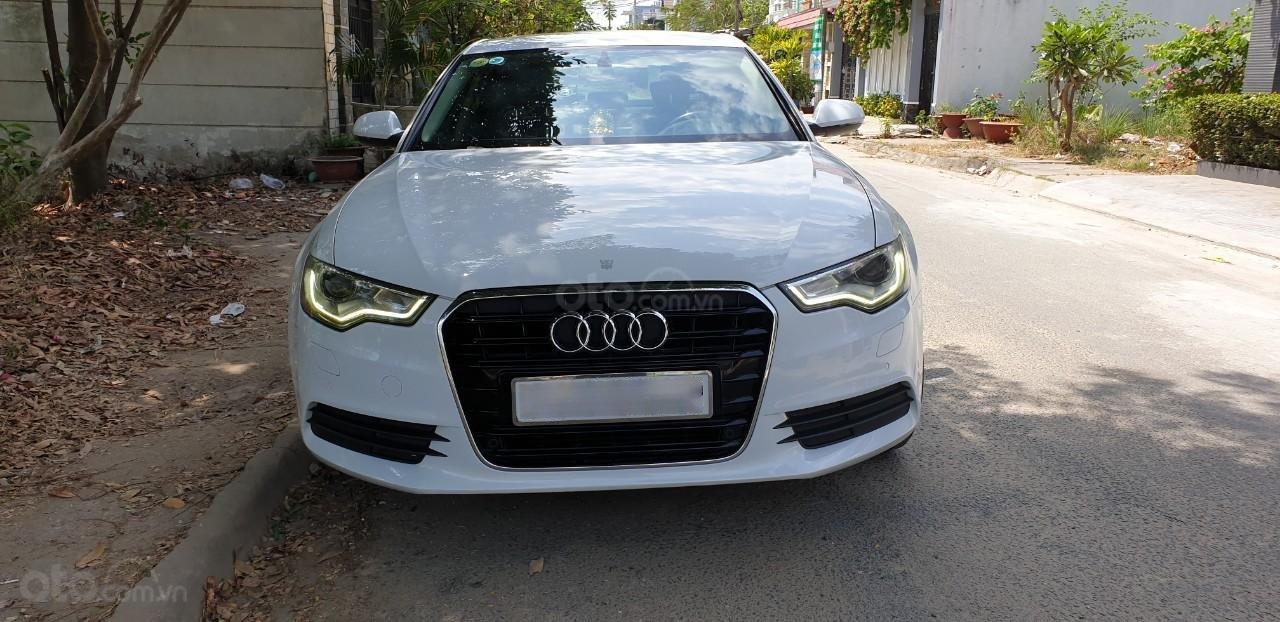 Bán xe Audi A6 đk 2015 chính chủ - màu trắng (4)