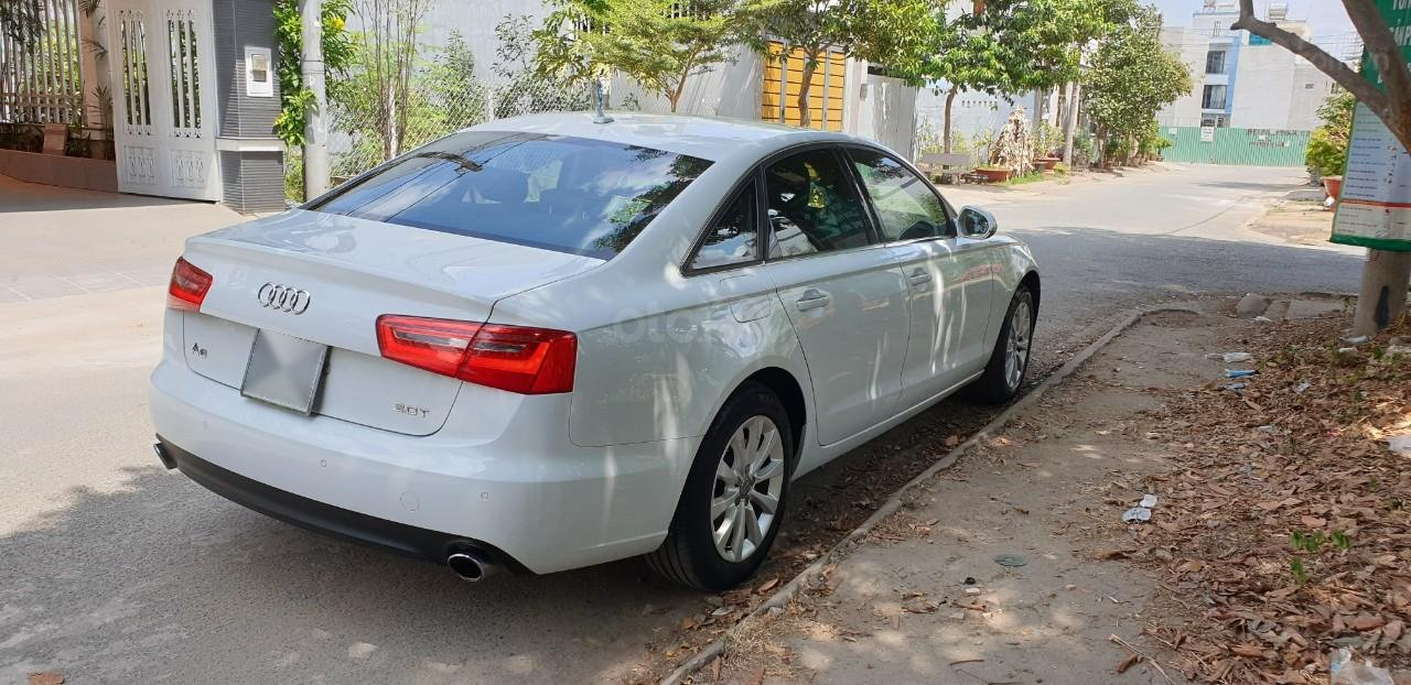 Bán xe Audi A6 đk 2015 chính chủ - màu trắng (5)