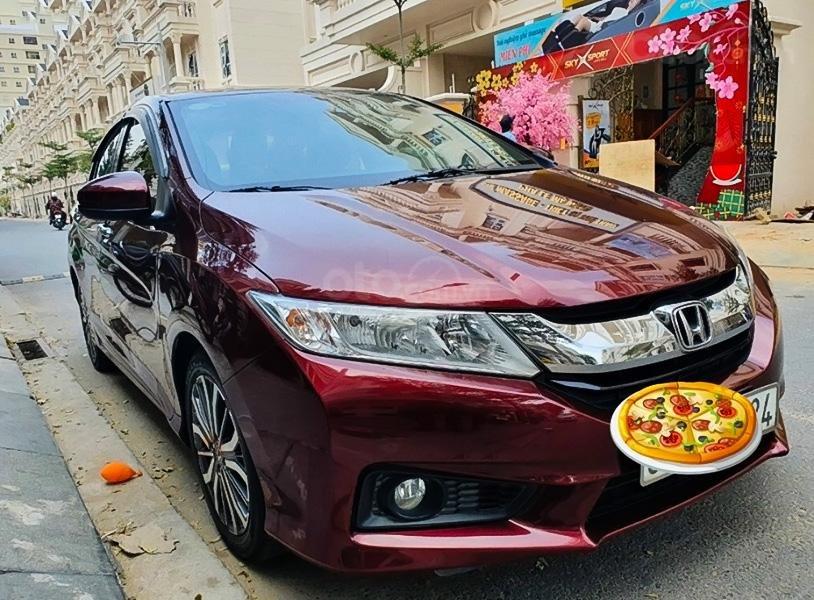 Bán Honda City 1.5 năm sản xuất 2017, màu đỏ chính chủ (1)