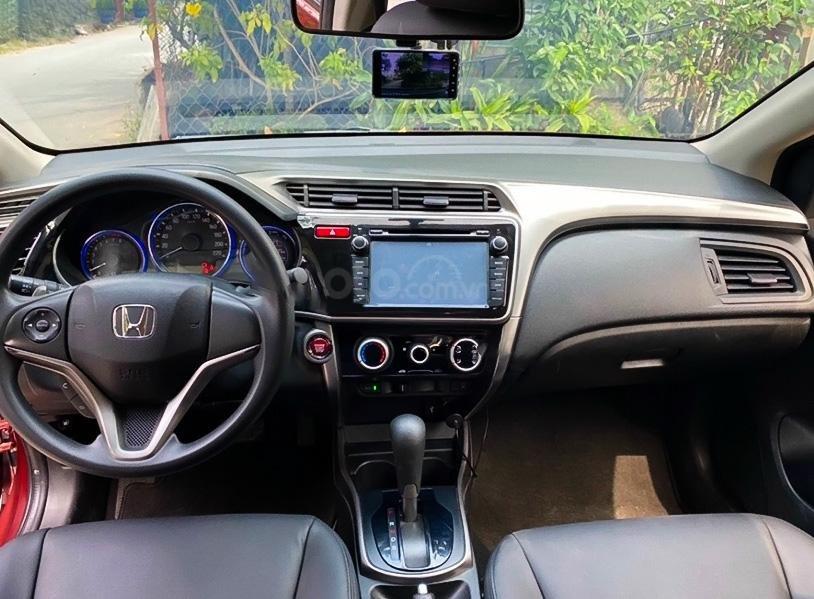 Bán Honda City 1.5 năm sản xuất 2017, màu đỏ chính chủ (2)