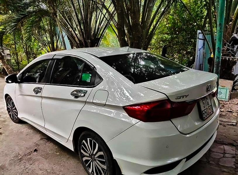 Bán xe Honda City sản xuất năm 2018, màu trắng, giá 475tr (2)