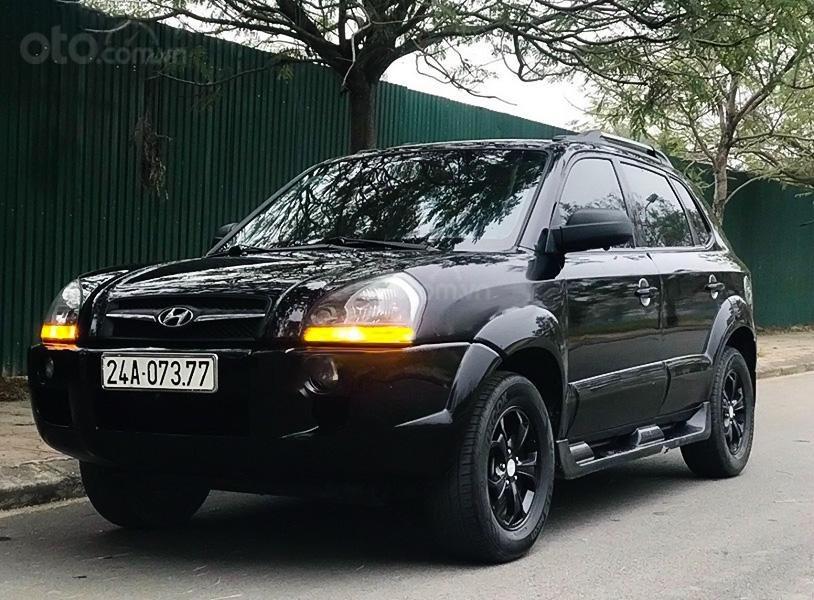 Cần bán xe Hyundai Tucson năm sản xuất 2009, màu đen, nhập khẩu, giá chỉ 300 triệu (1)