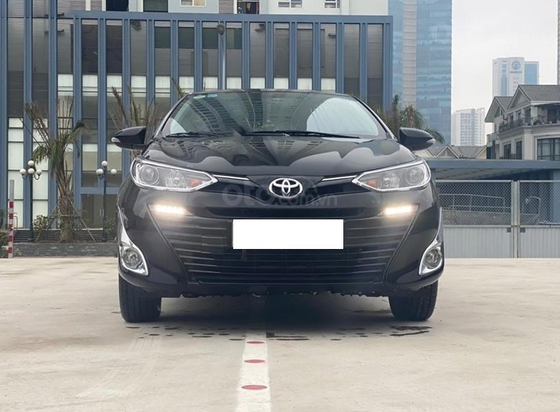 Bán Toyota Vios 1.5G sản xuất năm 2019, màu đen giá cạnh tranh (5)