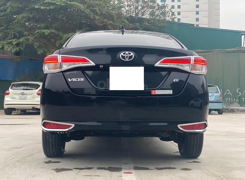 Bán Toyota Vios 1.5G sản xuất năm 2019, màu đen giá cạnh tranh (3)
