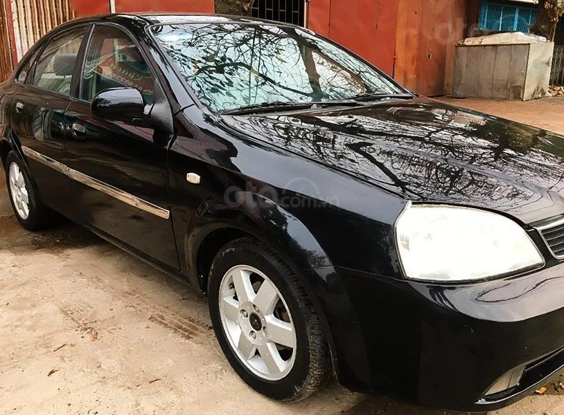 Xe Daewoo Lacetti 1.8 MT sản xuất năm 2004, màu đen (2)