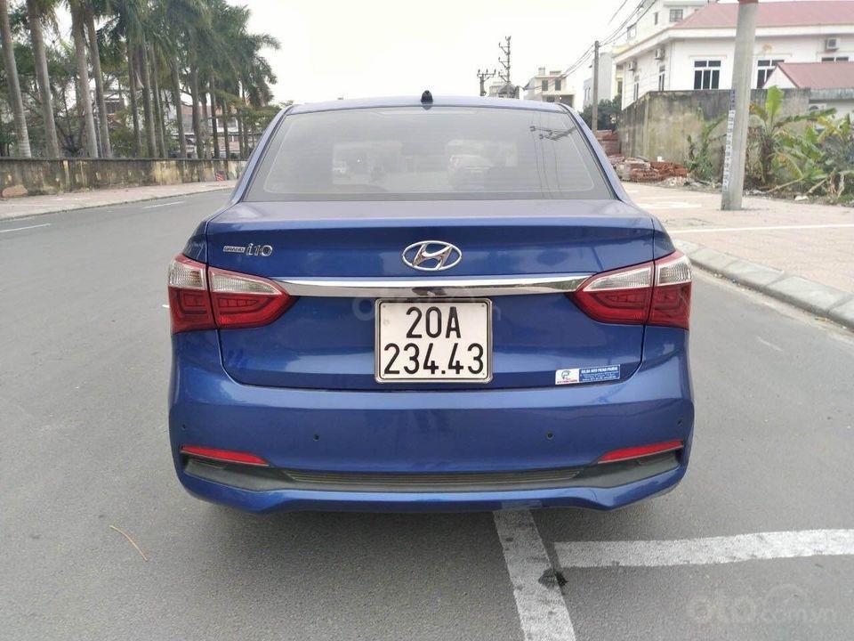Cần bán gấp Hyundai Grand i10 1.2 đời 2017, màu xanh, xe gia đình (3)