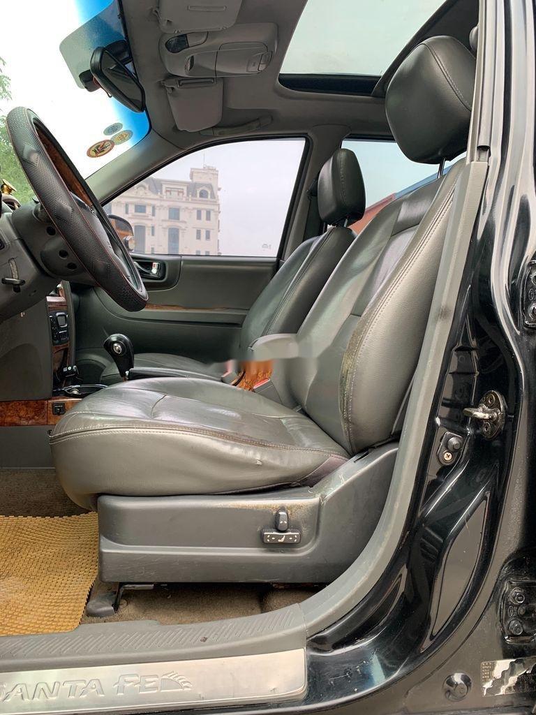 Cần bán xe Hyundai Santa Fe đời 2004, màu xám, nhập khẩu nguyên chiếc (5)